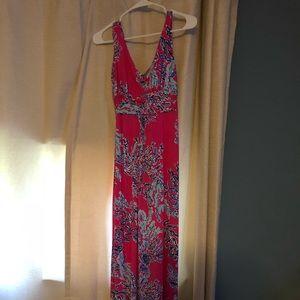Lilly pulitzer xs maxi dress